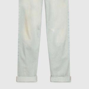 5d1277bb339 Gucci Pants - 80s stone washed denim pant  NEVER BEEN WORN